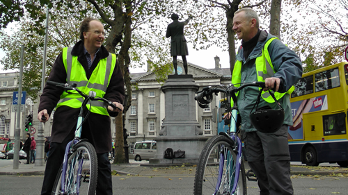 Dublin bike tour guides